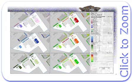 Downtown Navasota Parking Statistics Map for Parking Zone 5